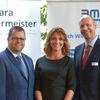 im Bild: Jürgen Schatz, Barbara Liebermeister, Manfred H. Müller. Bild: IHK/Derek Schuh