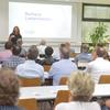 Die Managementberaterin Barbara Liebermeister sprach bei der Gemeinschaftsveranstaltung BME/IHK. Bild: IHK/Derek Schuh